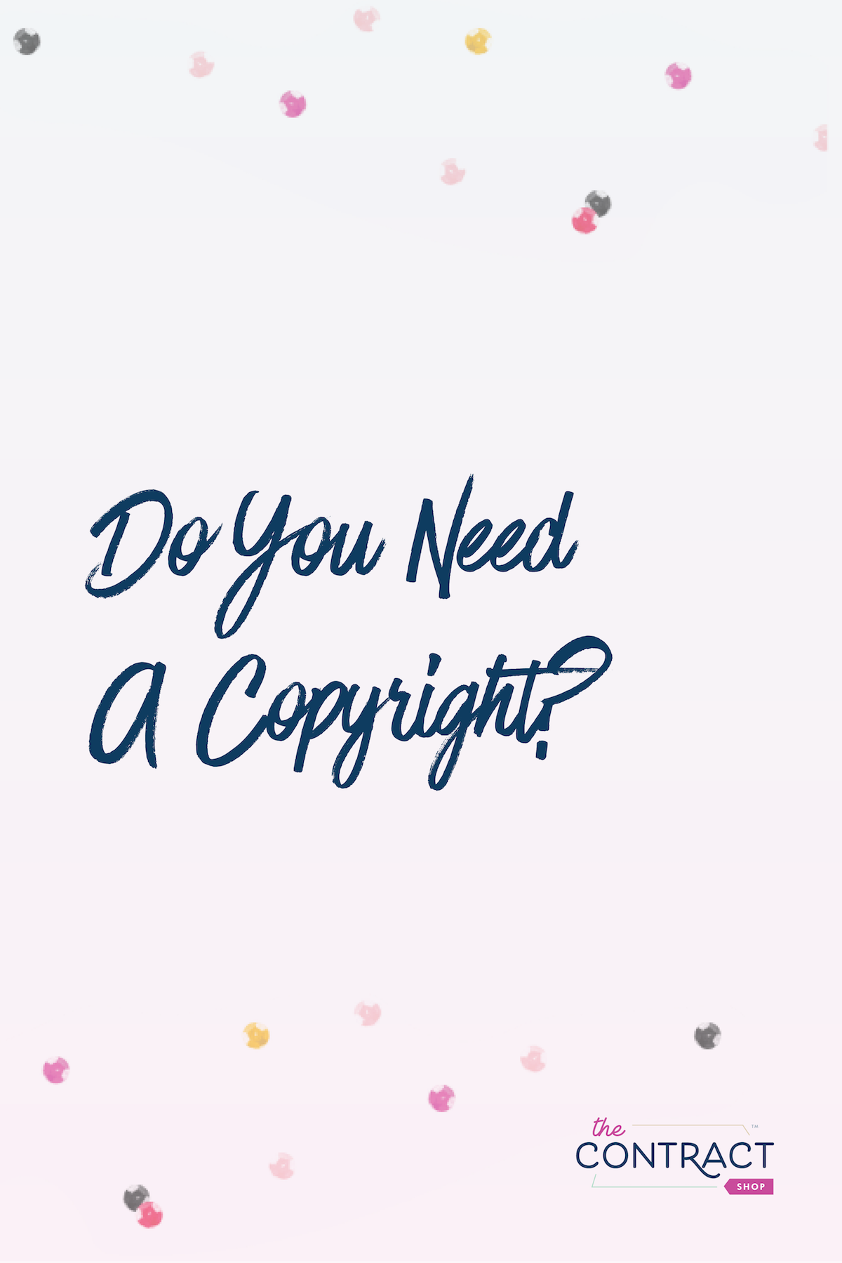 when should you get a copyright registration #legal #smallbusiness #copyright