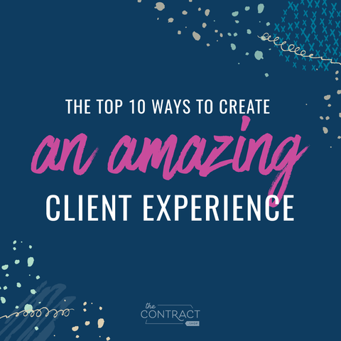 how to create a better client experience