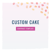 Custom Cake Contract Template