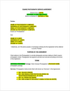 Equine Photography Contract Template