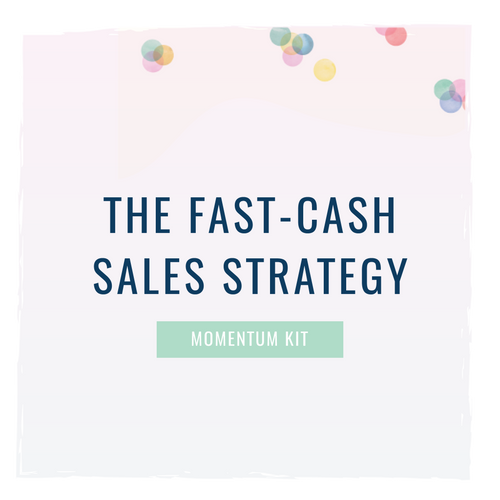 The Fast-Cash Sales Strategy
