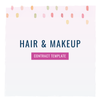 Hair & Makeup Stylist Contract Template