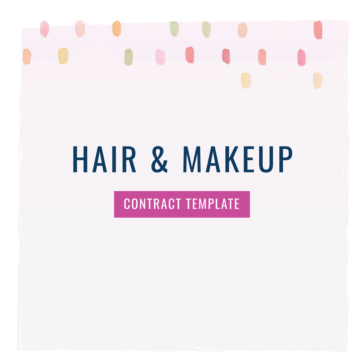 hair amp makeup stylist contract template the contract shop