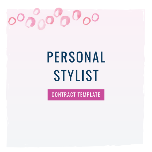 Personal Stylist Contract Template