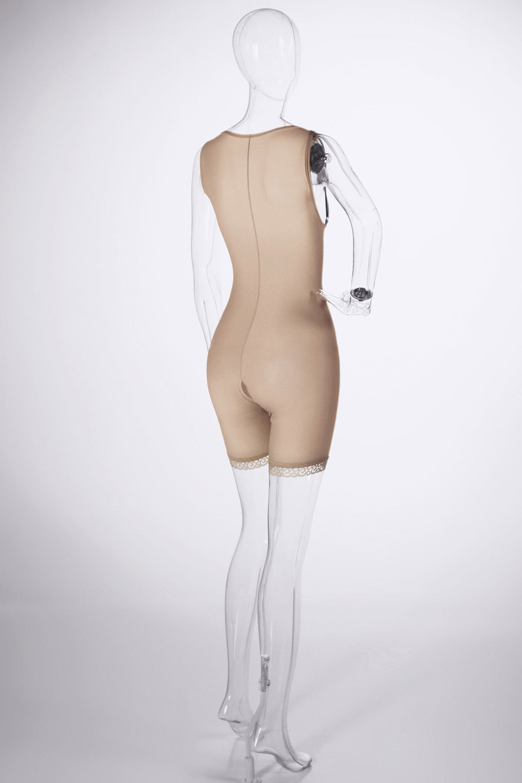 Sculpt | Women's High Back Front Hook & Eye Adjustable Closure Mid Thigh