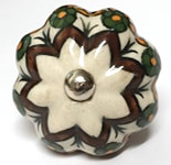 Autumn Ceramic Knob - Hip N Humble