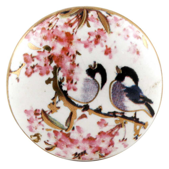 Love Birds Ceramic Knob - Hip N Humble