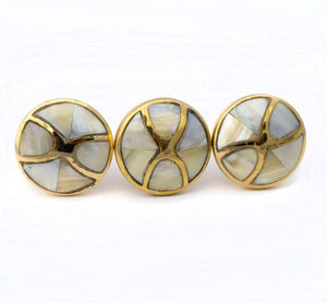 Mother Of Pearl Infinity Knobs - Hip N Humble