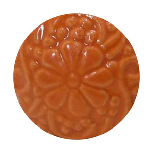 Orange Daisy Ceramic Knob - Hip N Humble
