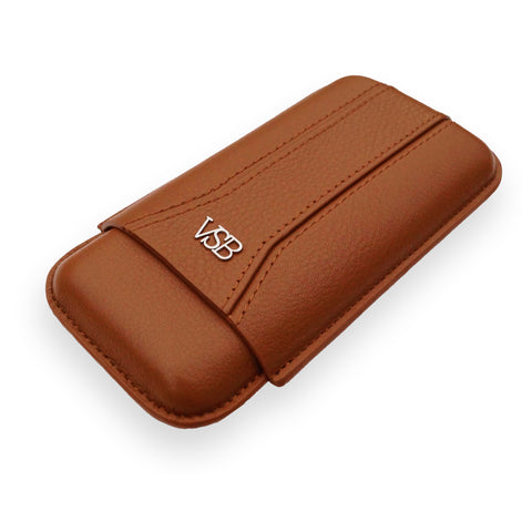 VSB London Brown Leather Travel Pouch
