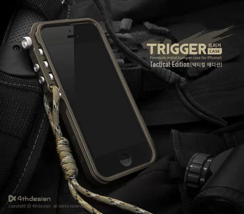 metal bumper for iphone 7 5 5S SE 4 6 6S Plus M2 4th design premium Aviation Aluminum phone case tactical edition