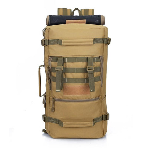Men's Military Tactical Camping Hiking Rucksack Travel Backpack 50L