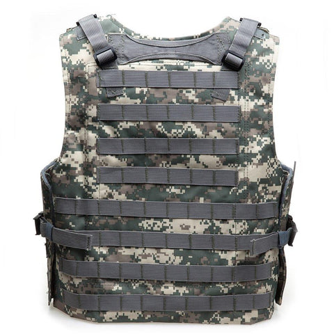 Camouflage Military Molle Armor Hunting Vest with 7 Colors