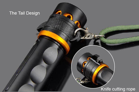 3800LM LED Torch CREE T6 Lampe Torche 5 Modes Self Defense