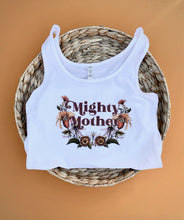 Mighty Mother - Ladies Tank Top [White]