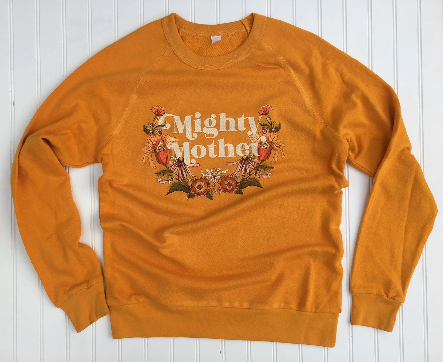 Mighty Mother - Marigold - Lightweight French Terry Pullover [Unisex]