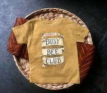 Busy Bee Club! (READY TO SHIP) [Toddler Tee]