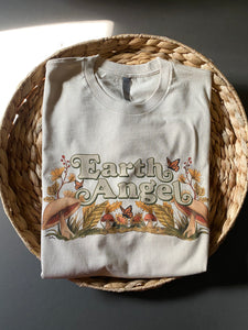 Earth Angel - Oatmeal - Unisex Tee - [READY TO SHIP]