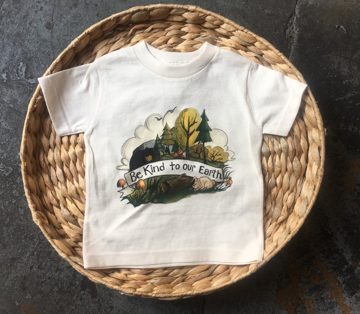 Be Kind to Our Earth - [Toddler Tee]