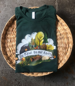 Be Kind to Our Earth [PRE-ORDER] Hunter - Unisex Tee