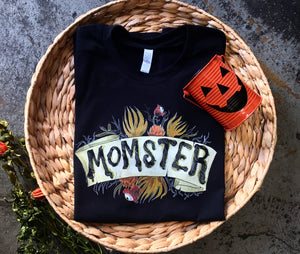 Momster - Black Unisex [READY TO SHIP] Tee