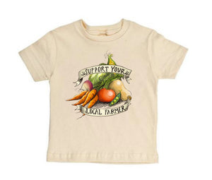 Support Your Local Farmer [Toddler Tee]