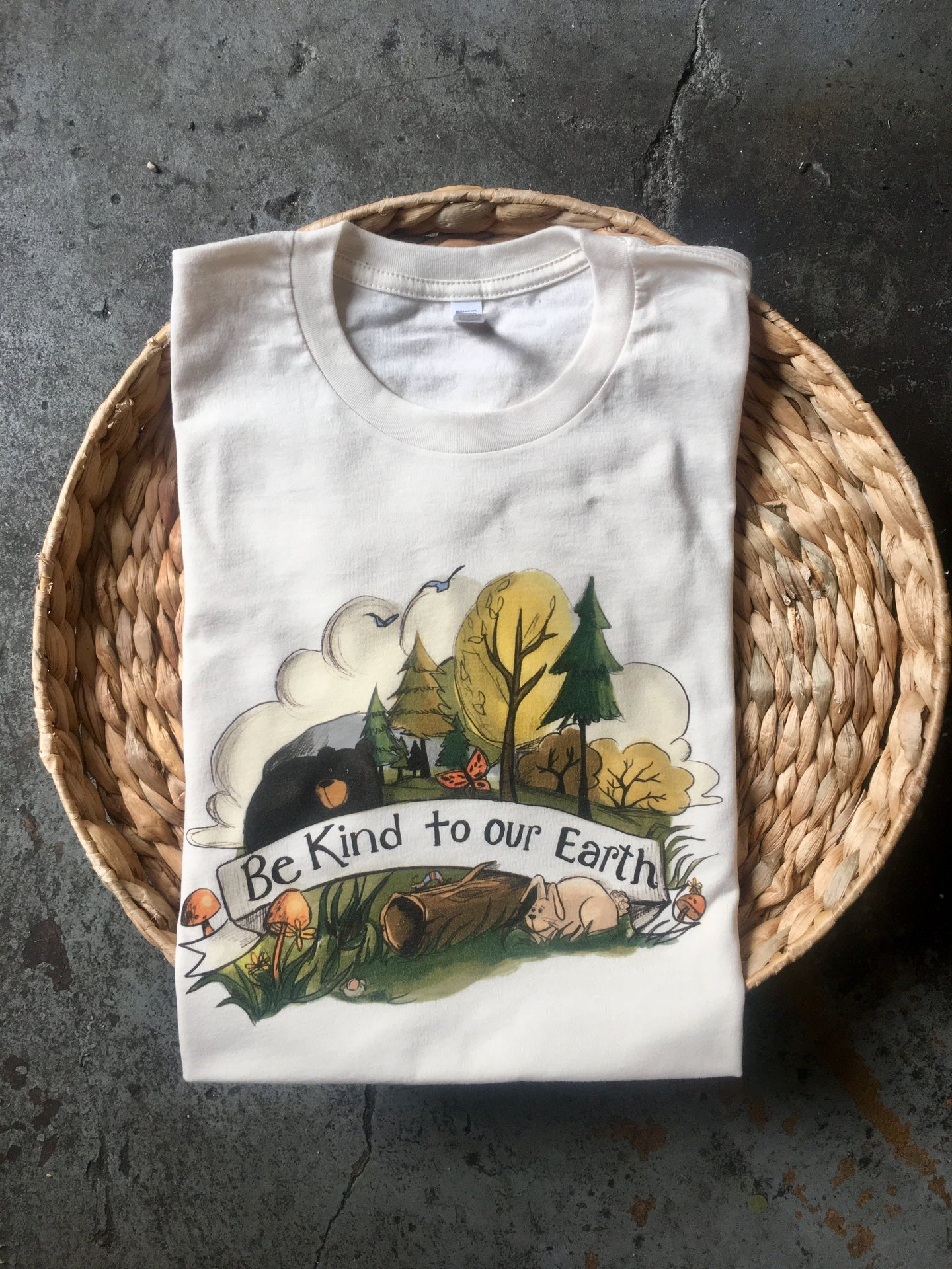 Be Kind to Our Earth - Natural - Unisex Tee