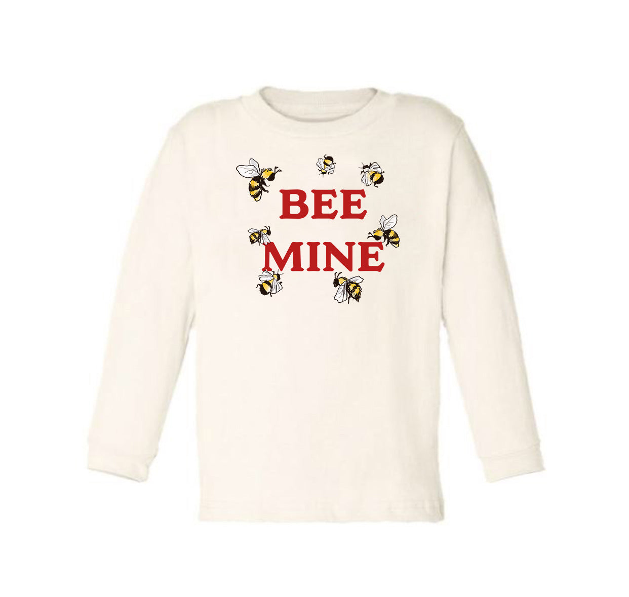 Bee Mine [Long Sleeved Toddler Tee]