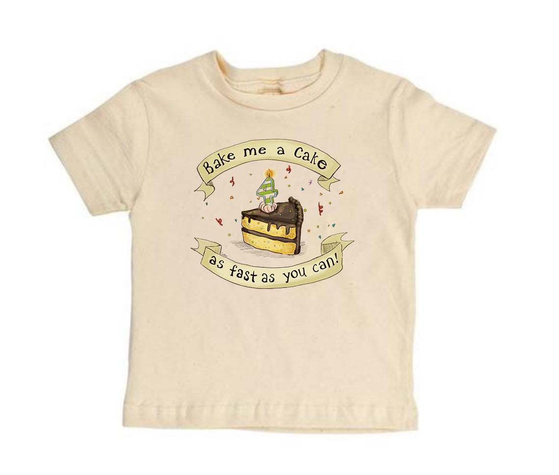 Bake Me a Cake! 4 [Toddler Tee]
