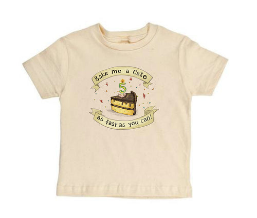 Bake Me a Cake! 5 [Toddler Tee]