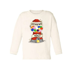 I Chews You [Long Sleeved Toddler Tee]