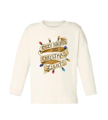 Cozy Nights [Long Sleeved Toddler Tee]