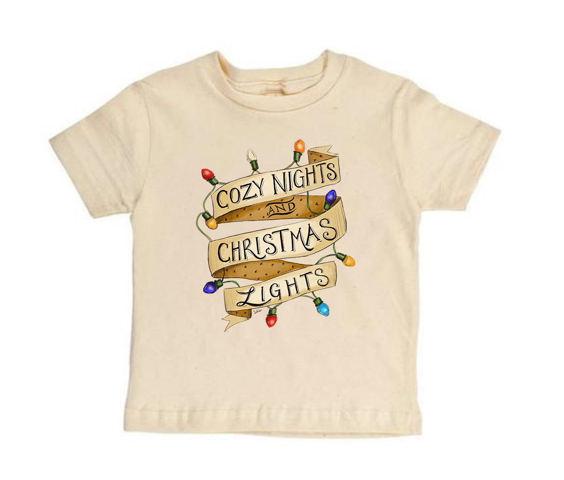 Cozy Nights [Short Sleeved Toddler Tee] READY TO SHIP
