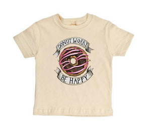 Donut Worry Be Happy [Toddler Tee]