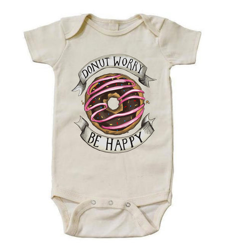 Donut Worry Be Happy [Bodysuit]