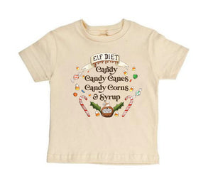 Elf Diet - Ready to Ship [SHORT SLEEVE TODDLER TEE]