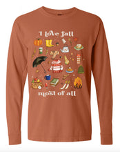 I Love Fall Most of All - Yam [Unisex Long Sleeves]
