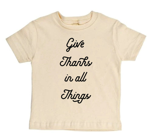 Give Thanks - [Toddler Tee]