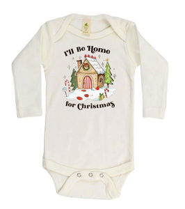 Home for Cristmas [Long Sleeved Bodysuit]