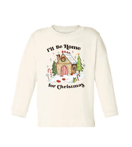 Home for Christmas [Long Sleeved Toddler Tee]