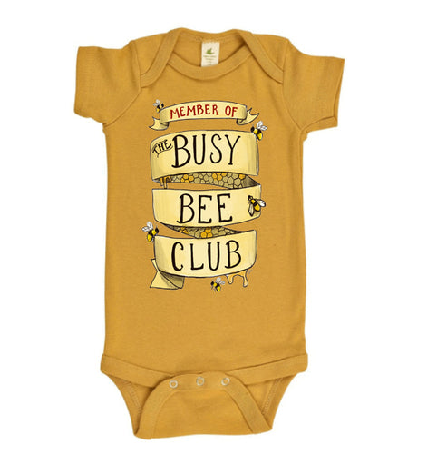 Busy Bee Club! (READY TO SHIP) [Bodysuit]