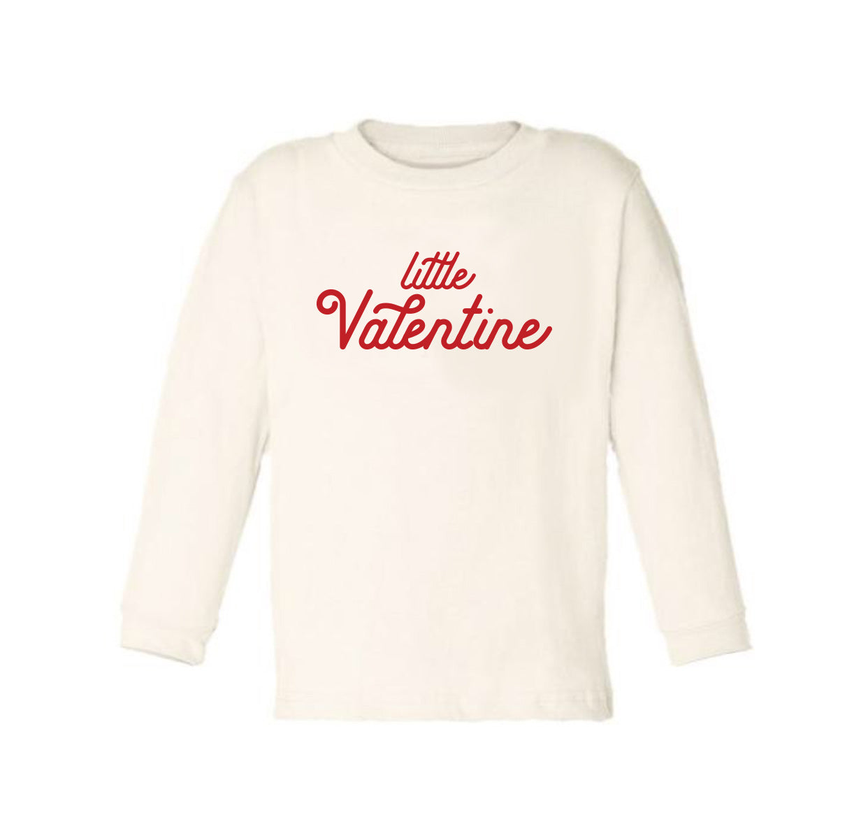 Little Valentine [Long Sleeved Toddler Tee]