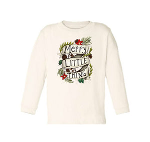 Merry Little Thing [Long Sleeved Toddler Tee]