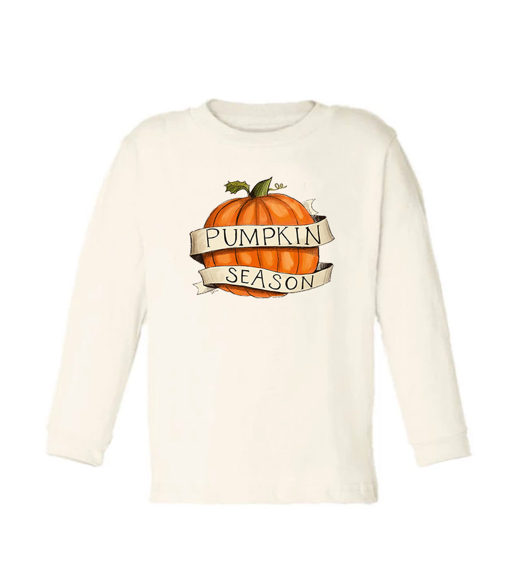 Pumpkin Season - Long Sleeved [Toddler Tee]