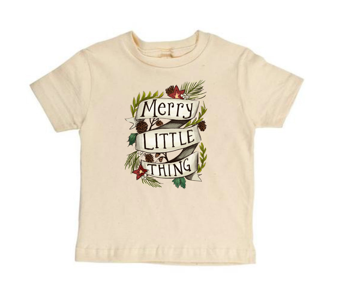 Merry Little Thing [Short Sleeve Toddler Tee]