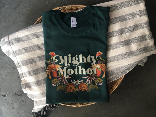 Mighty Mother - Forest- Unisex Tee [READY TO SHIP]