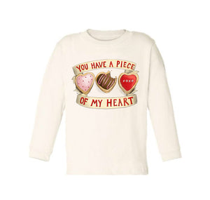 You Have a Piece of My Heart [Long Sleeved Toddler Tee]