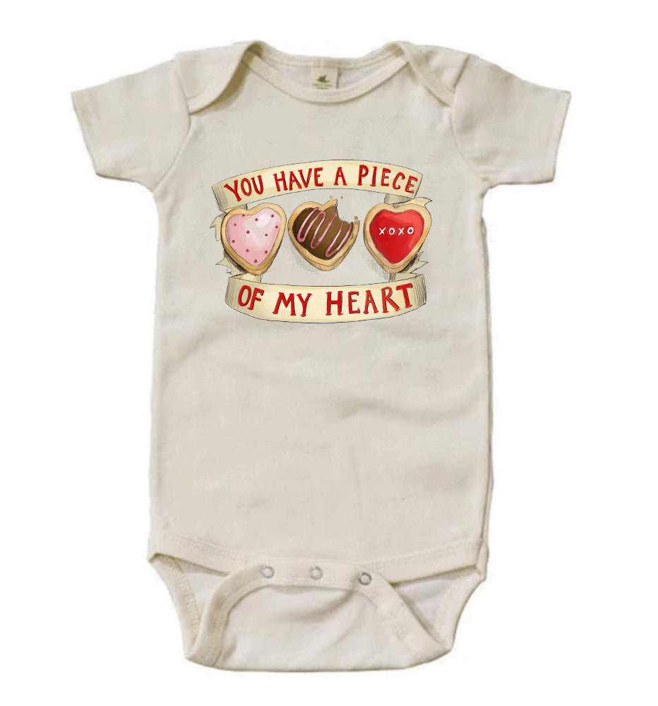 You Have a Piece of My Heart [Short Sleeved Bodysuit]