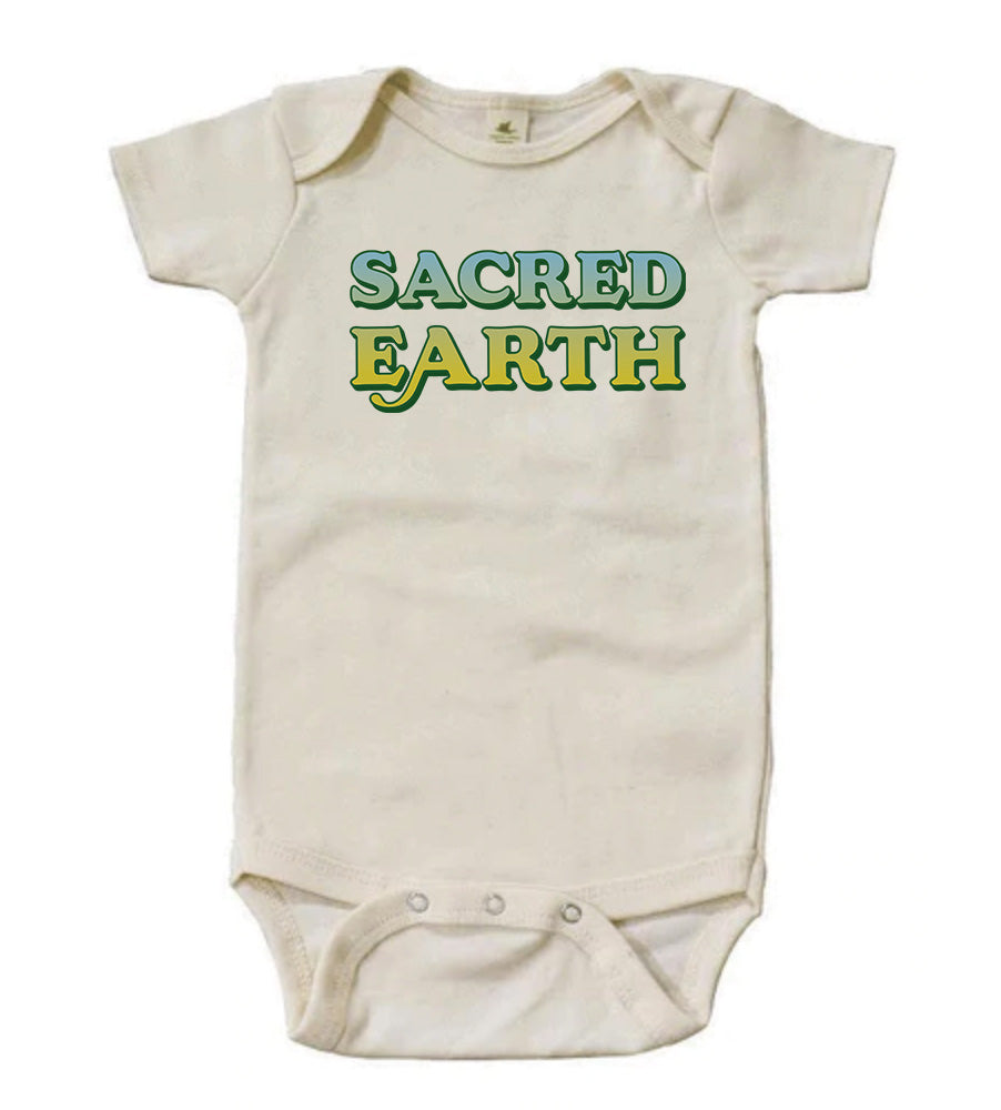 Sacred Earth [Short Sleeved Bodysuit]