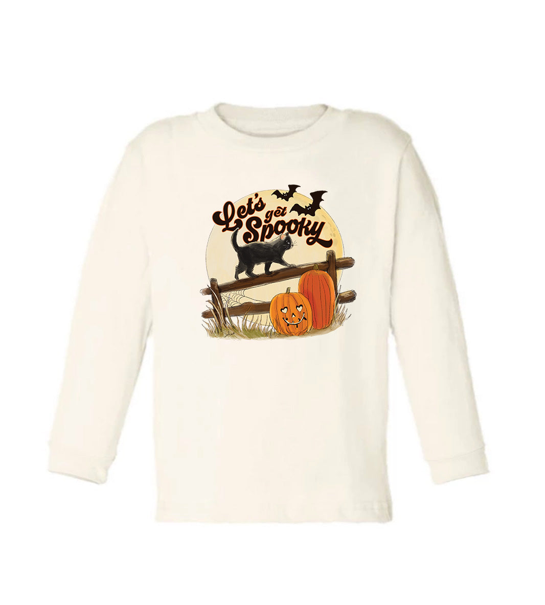 Let's Get Spooky - Long Sleeved [Toddler Tee]